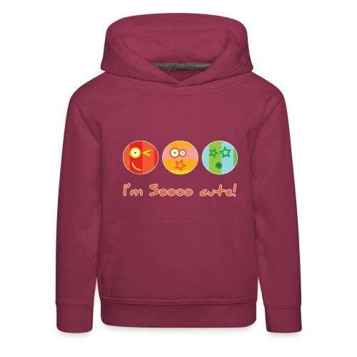 Sooo Cute - Kinderen trui Premium met capuchon