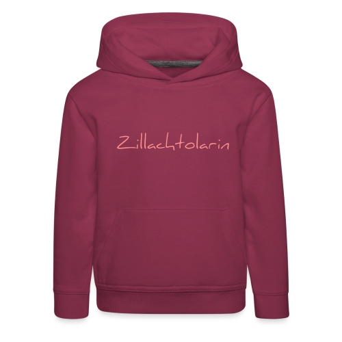 Zillachtolarin - Kinder Premium Hoodie