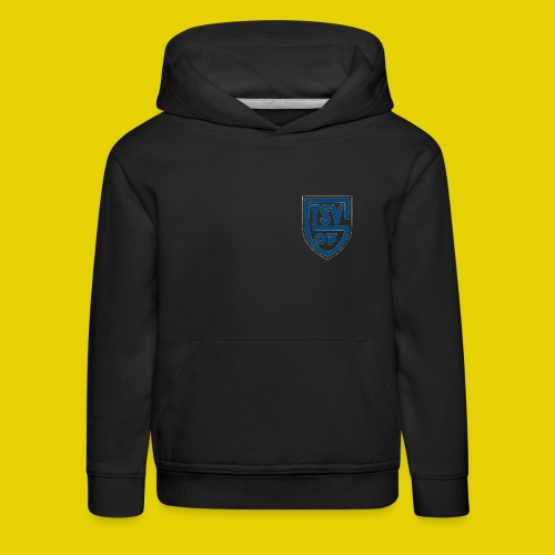logo transparent blau - Kinder Premium Hoodie