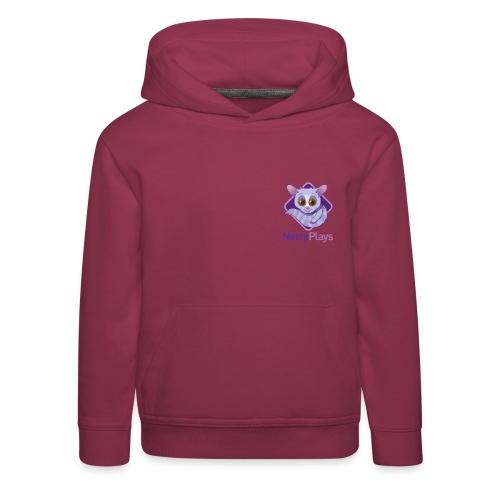 Netty Logotype png - Kids' Premium Hoodie