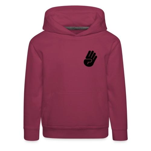 hand Black - Kinder Premium Hoodie