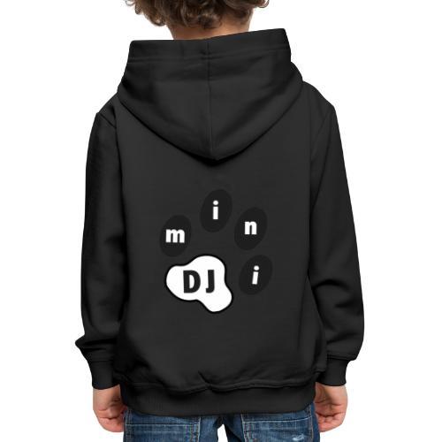 DJMini Logo - Premium hættetrøje til børn