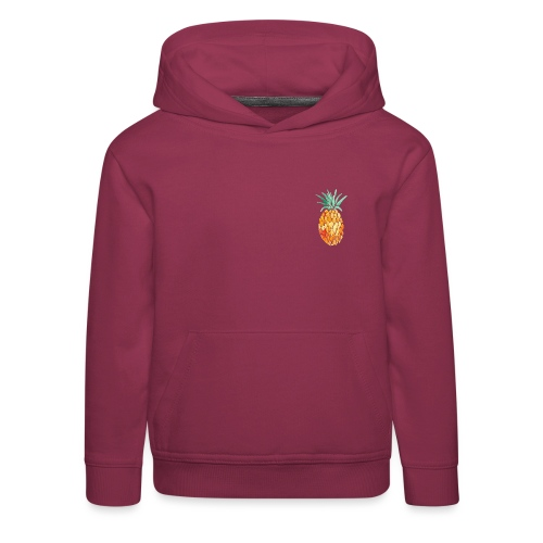 pinety logo print - Premium hættetrøje til børn