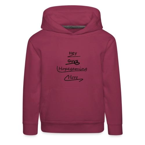 2nd Shirt Design - Kids' Premium Hoodie