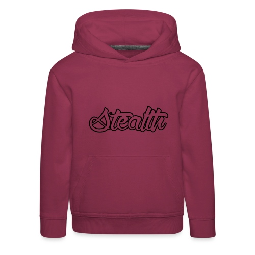 Stealth White Merch - Kids' Premium Hoodie