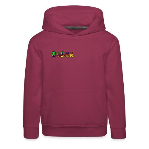 rushhlogoo - Kids' Premium Hoodie