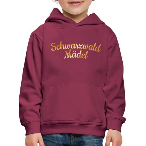 Schwarzwald Mädel (Goldgelb) - Kinder Premium Hoodie
