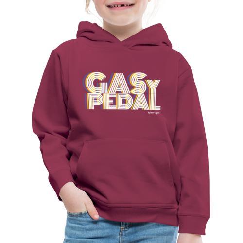 GAS Y PEDAL - Sudadera con capucha premium niño