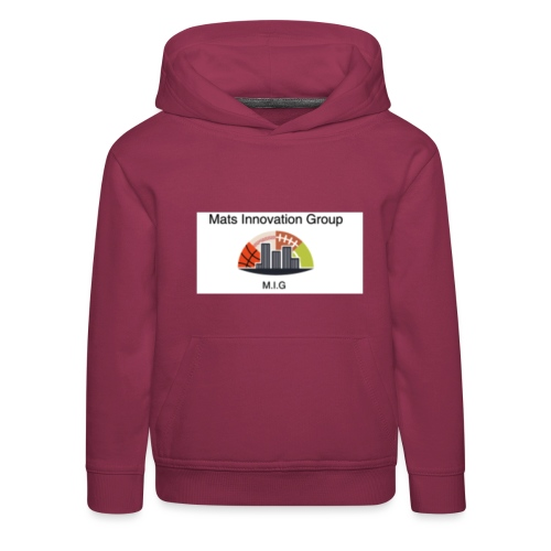 MATS - Premium hættetrøje til børn