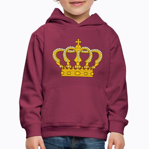 Golden crown - Kids' Premium Hoodie