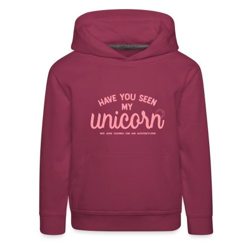 Unicorn pink - Kids' Premium Hoodie