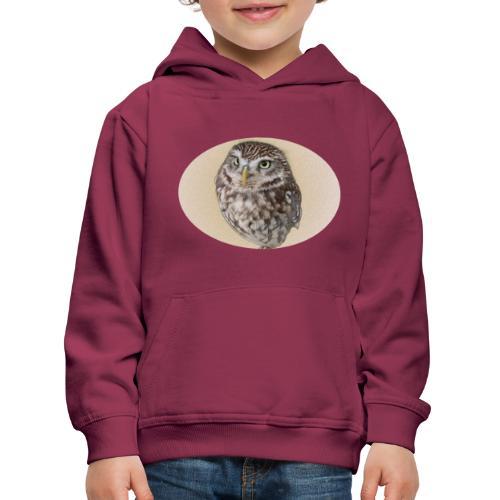 magic owl background gold transparent - Kids' Premium Hoodie
