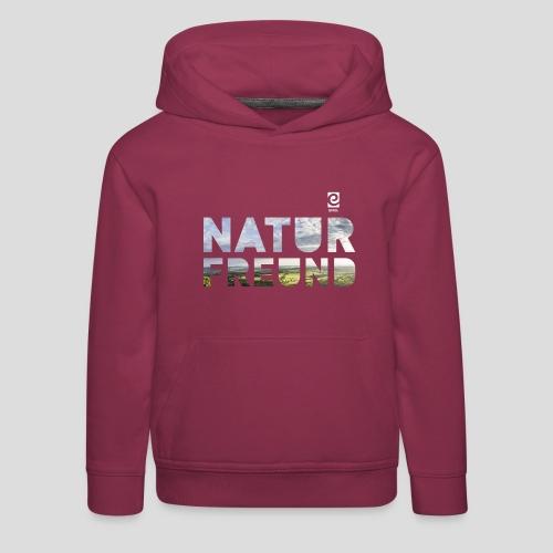 Naturfreund - weiß - Kinder Premium Hoodie