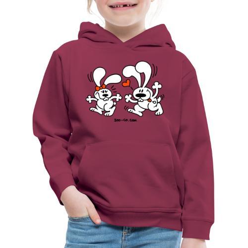 Hot Bunnies - Kids' Premium Hoodie