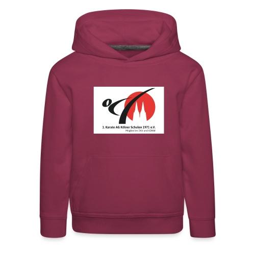 Fanshop_Logo_Karate_Ag - Kinder Premium Hoodie