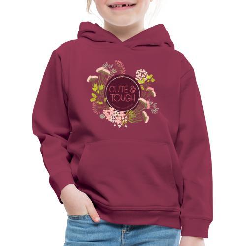 Cute and tough - wine red - Kids' Premium Hoodie