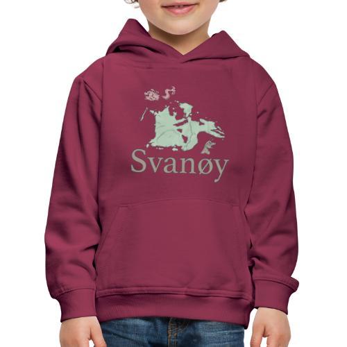 Svanøy - Premium Barne-hettegenser