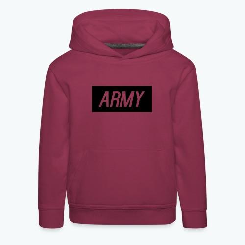 army1 - Kids' Premium Hoodie