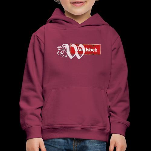 Hamburg Wandsbek Ortsschild mit Initial - Kinder Premium Hoodie
