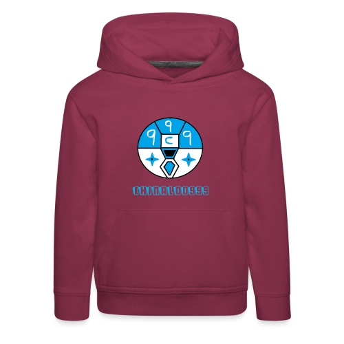 merchandice blue copy - Kids' Premium Hoodie