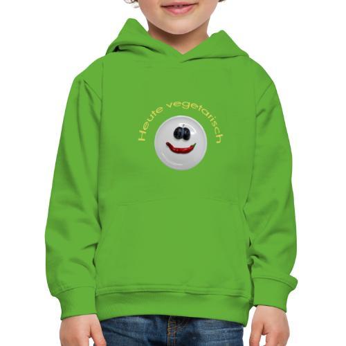 TIAN GREEN - Heute Vegetarisch - Kinder Premium Hoodie