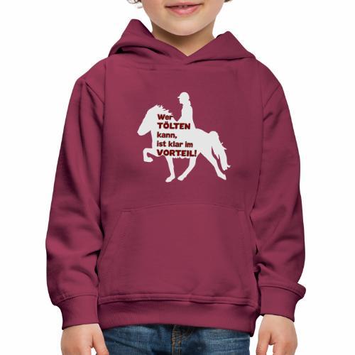 Tölt Tölten Isländer Islandpferd - Kinder Premium Hoodie