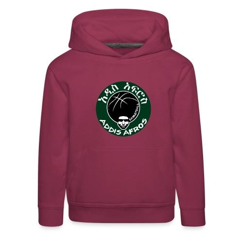Afros greencicrcle bb - Kinder Premium Hoodie
