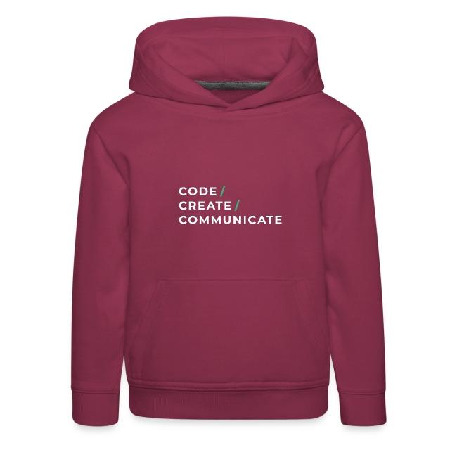 Code / Create / Communicate