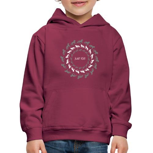 JUST TÖLT MT13 - Pull à capuche Premium Enfant