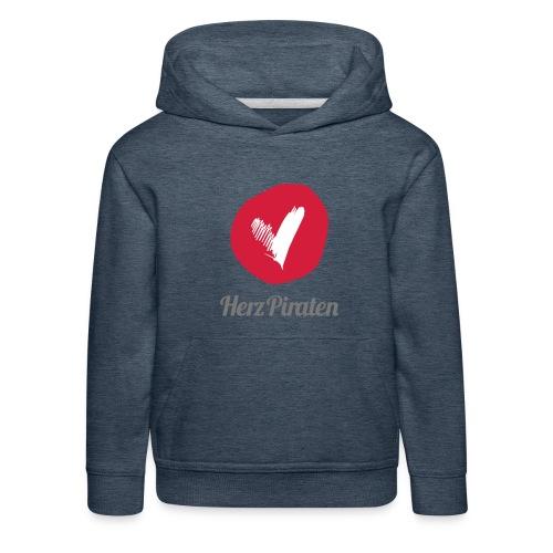 130318_Herzpiraten-Logo_R - Kinder Premium Hoodie