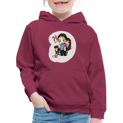 mysz?! - Bluza dziecięca z kapturem Premium