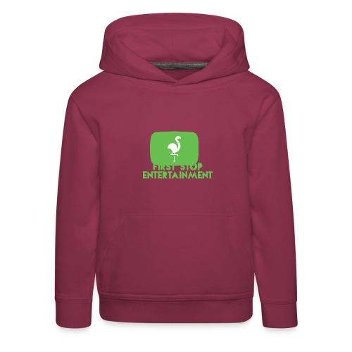 Box Logo png - Premium Barne-hettegenser