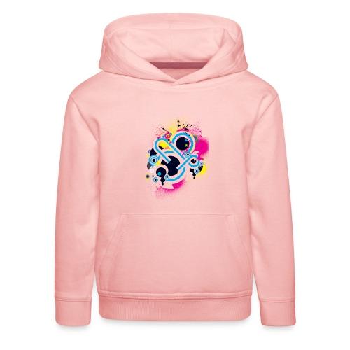 d3scene t shirt design front o by ezacx d3924g1 p - Kinderen trui Premium met capuchon