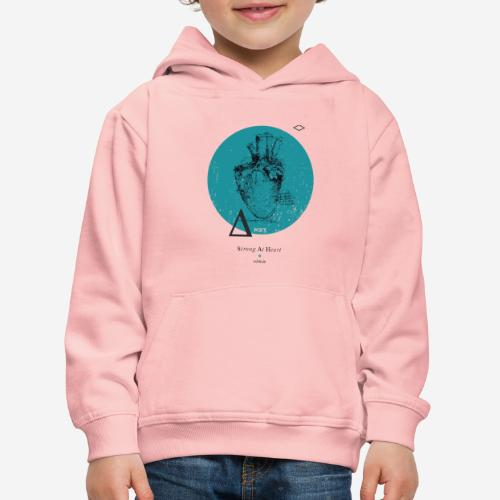 Strong At Heart ♡ - Kinder Premium Hoodie