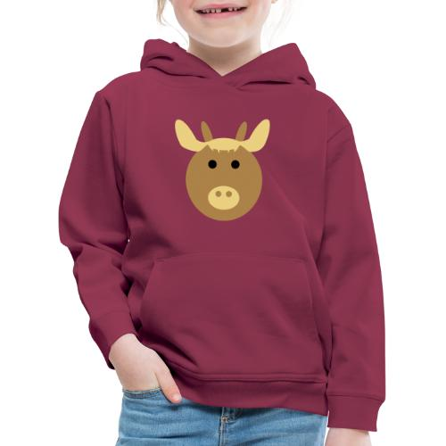 koolkids Kuh braun - Kinder Premium Hoodie