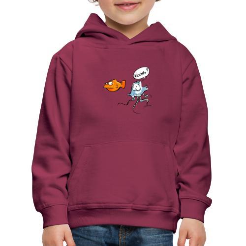 Kuscheln? - Kinder Premium Hoodie