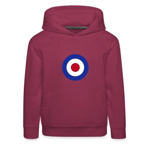 Mod Target United Kingdom Großbritannien - Kinder Premium Hoodie