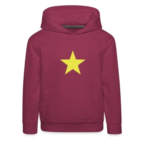étoile couleurs modifia.. - Pull à capuche Premium Enfant