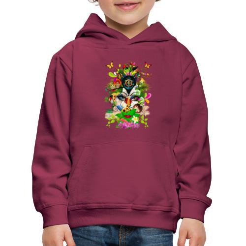 Parfum d'été by T-shirt chic et choc - Pull à capuche Premium Enfant