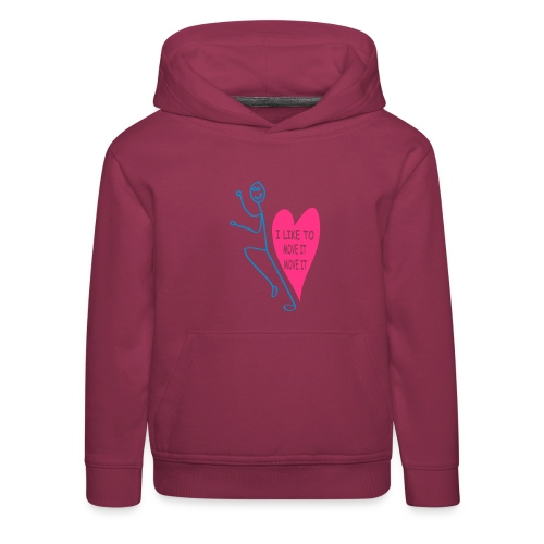 i_like_to_move_it - Kids' Premium Hoodie
