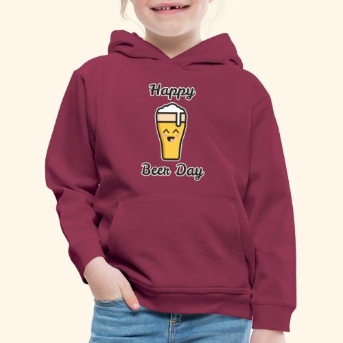 happy beer day - Pull à capuche Premium Enfant