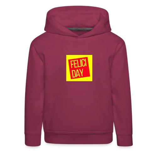 Feliciday - Sudadera con capucha premium niño
