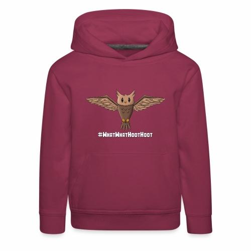 Flying Owl - Kids' Premium Hoodie