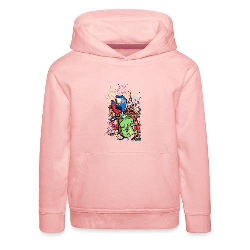 t shirt design best of 2012 by toen d5qaap9 png - Kinderen trui Premium met capuchon