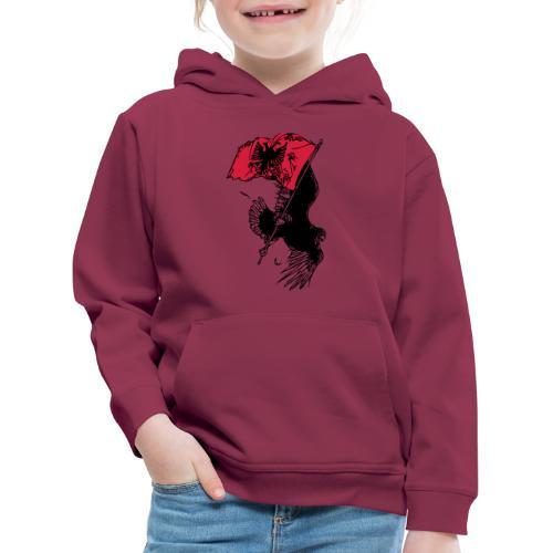 Albanischer Adler - Kinder Premium Hoodie