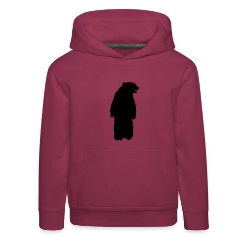SB ZOO LOGO BEAR - Kinder Premium Hoodie