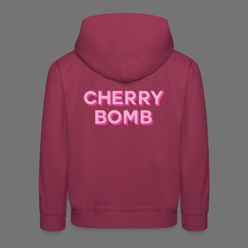 CHERRY BOMB Tee Shirts - Kids' Premium Hoodie