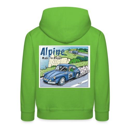 Polete en Alpine 106 - Pull à capuche Premium Enfant
