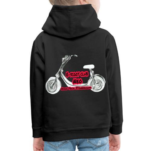 Neorider Scooter Club - Pull à capuche Premium Enfant