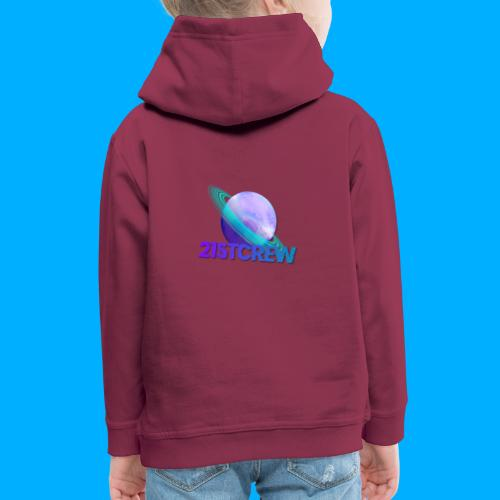 PurpleSaturn T-Shirt Design - Kids' Premium Hoodie